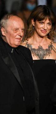 Dario Argento (80 anni) con la figlia Asia