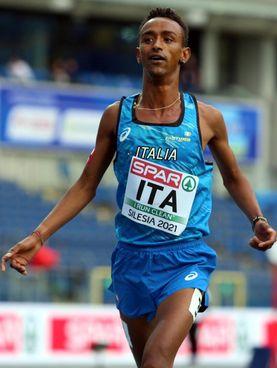 Yeman Crippa, 24 anni, è primatista italiano di 3.000, 5.000 e 10.000 metri