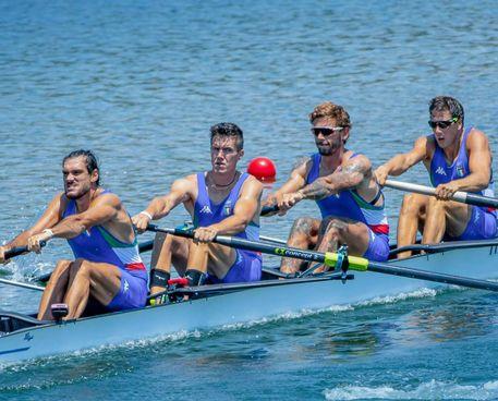 Il quattro x italiano in gara alle olimpiadi di Tokyo