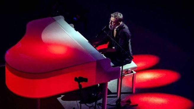 Marco Masini sul palco