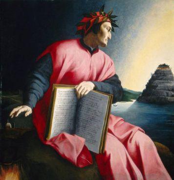 Il ritratto di Dante realizzato dal Bronzino (1503-1572) intorno al 1532
