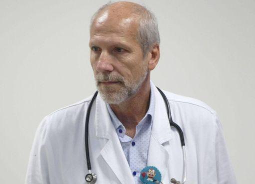 Il dottor Pier Luigi Vasarri, direttore di pediatria e di neonatologia dell'ospedale Santo Stefano foto Attalmi