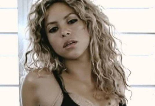 La cantante colombiana Shakira, 44 anni, compagna del calciatore Gerard Piqué