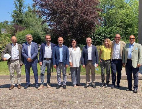 Sono intervenuti, fra gli altri, l'assessora Lori, Marchetti della Fondazione Alberitalia, Bernabè di Romagna Acque e il sindaco Valbonesi