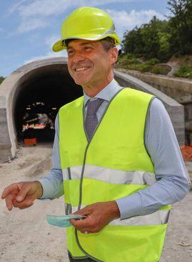 Roberto Tomasi, amministratore delegato Autostrade. Ha annunciato il via ai lavori per la terza corsia A11
