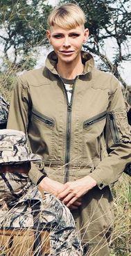 La principessa Charlene, 43 anni