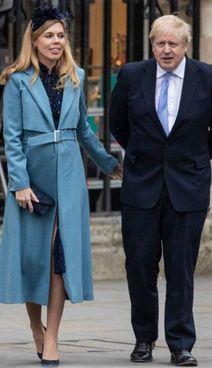 Boris Johnson, 57 anni, e Carrie Symonds, 33, si sono sposati a maggio