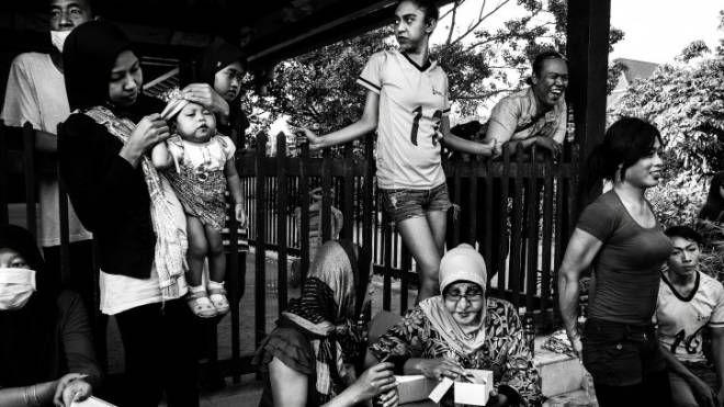 Lo scatto di Bugani dello studio Fotoimage di via delle Belle Arti 'Waria: being a different muslim'