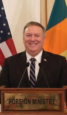 Mike Pompeo, 58 anni, ex segretario di Stato degli Usa