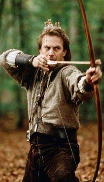 Kevin Costner, 66 anni, nel film 'Robin Hood - principe dei ladri'