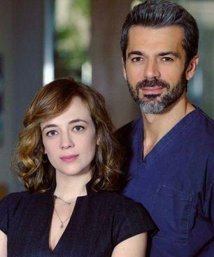 "Sara Lazzaro con Argentero in ""Doc"""