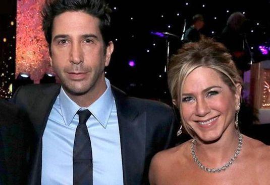 David Schwimmer, 55 anni, con Jennifer Aniston, 52 anni