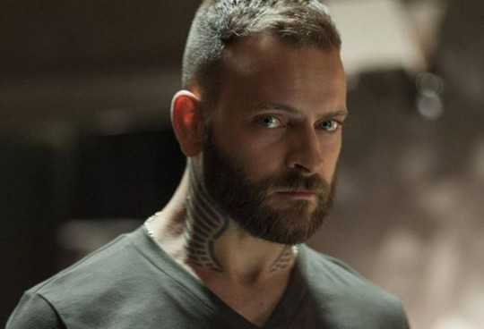 Alessandro Borghi, 34 anni, protagonista del thriller Sky tratto da Jo Nesbo