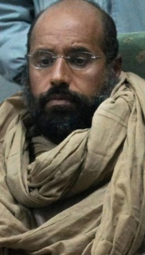 Il secondogenito di Gheddafi Saif al Islam, 49 anni