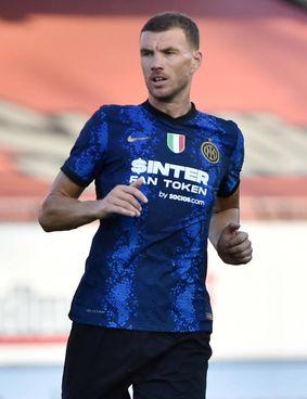 Edin Dzeko, attaccante bosniaco di 35 anni: ha lasciato la Roma dopo 85 gol in A