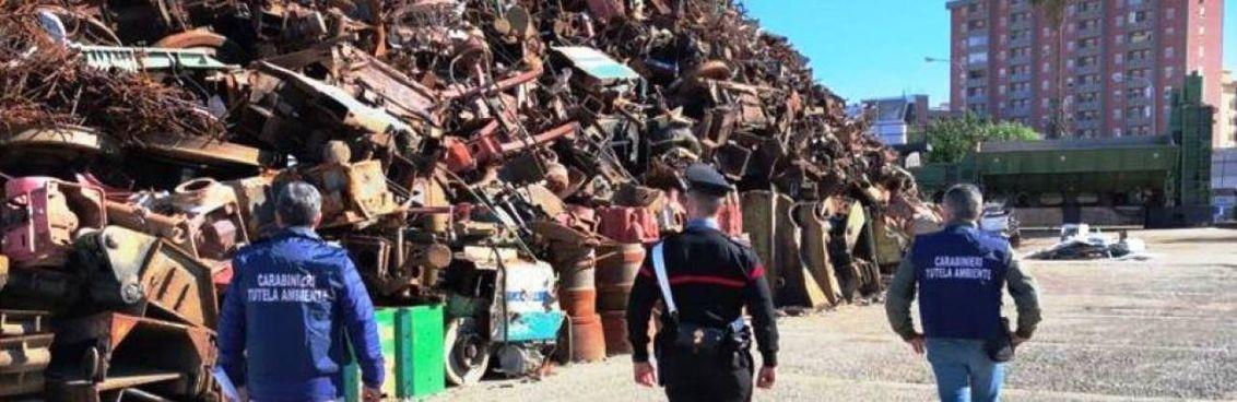 Un'azienda di rifiuti speciali posta sotto sequestro per attività. mafiosa a. Palermo