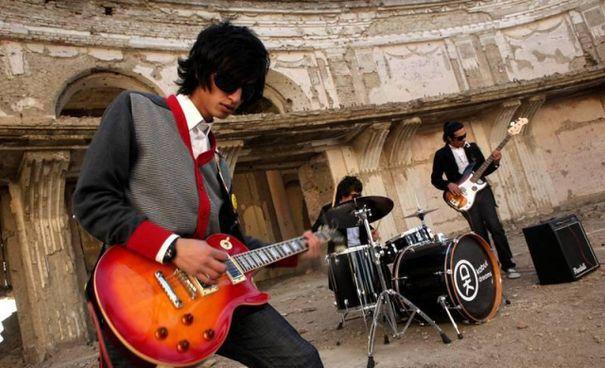 La rock band Kabul Dreams: lasciò. l'Afghanistan nel 2013 per le minacce talebane