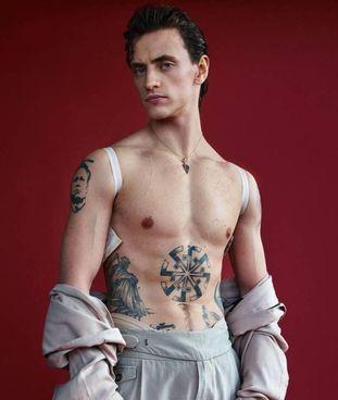 Ballerino, attore e modello ucraino, Sergei Polunin ha 31 anni