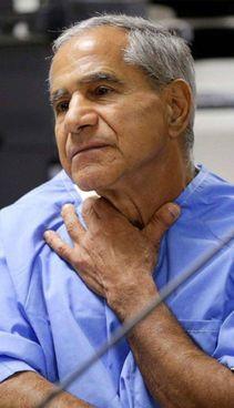 Sirhan Bishara Sirhan, di origini palestinesi, oggi ha 77 anni