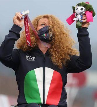 Francesca Porcellato, 50 anni, alla sua 14ª medaglia in 11 Paralimpiadi disputate