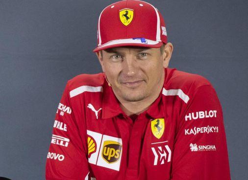 Kimi Raikkonen, 41 anni, ai tempi della Ferrari: vinse il titolo nel 2007 (Ansa)