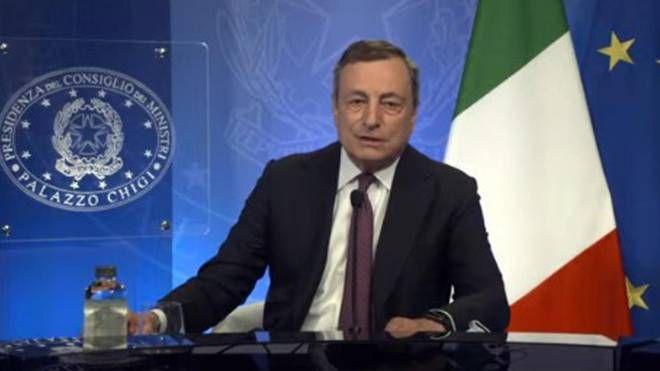 Conferenza stampa di Draghi oggi alle 16. La diretta - Politica -  quotidiano.net