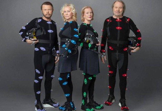 Agnetha Fältskog, Anni-Frid Lyngstad, Björn Ulvaeus e Benny Andersson. : gli Abba