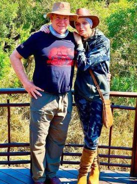 Charlène Wittstock, 43 anni, con il principe Alberto II di Monaco, 63 anni