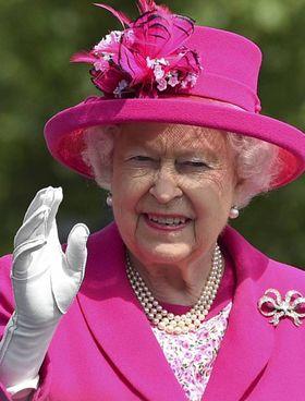 La regina Elisabetta II, 95 anni