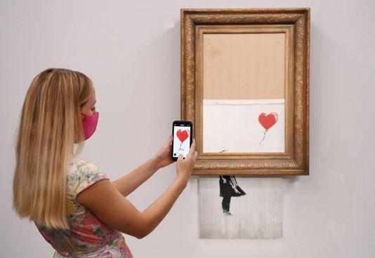. L'opera di Banksy che si autodistrusse clamorosamente tre anni