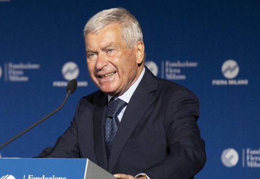 Carlo Sangalli, 84 anni, è il presidente di Confcommercio