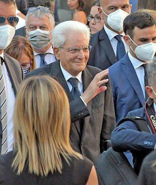 Il presidente della Repubblica Sergio Mattarella, 80 anni, terminerà il suo mandato nel gennaio 2022