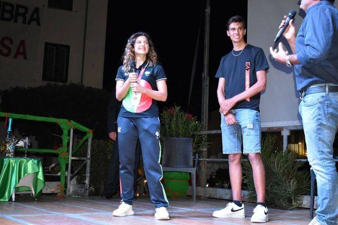 Paralimpiadi, la festa per Ambra Sabatini nella sua Porto Ercole