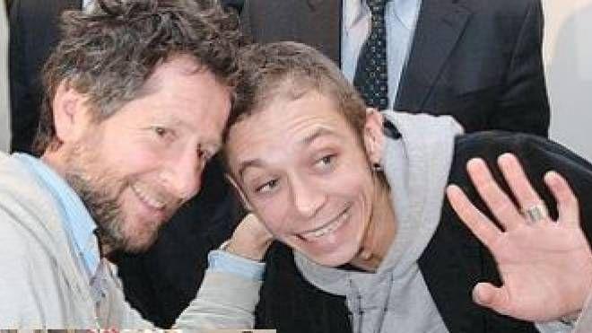 Valentino Rossi e il padre Graziano