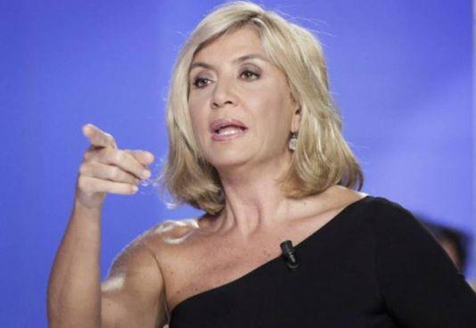 Myrta Merlino, 52 anni, premiata come conduttrice televisiva