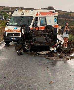 Una tromba d'aria a Pantelleria ha provocato due morti e dieci feriti, quattro sono gravi (. foto Regione Sicilia
