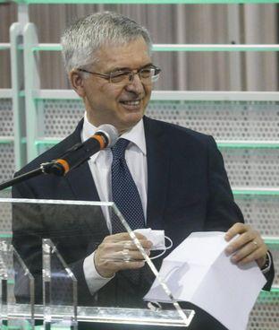 Il ministro Daniele Franco, 68 anni, ha partecipato alla due giorni di Eurogruppo e all'Ecofin informale