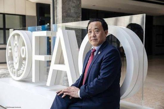 MEZZI TECNICI E RISORSE Sopra Qu Dongyu, direttore generale della Fao: «Le riserve mondiali di cibo dipendono sempre più da poche colture e pochi prodotti»