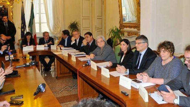 Commissione parlamentare antimafia a Reggio (Artioli)
