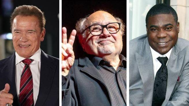 Arnold Schwarzenegger, Danny DeVito e Tracy Morgan
