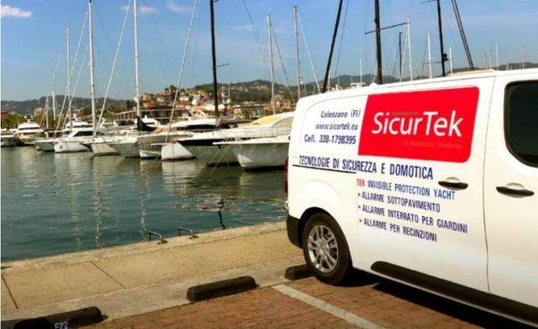 Sicurtek, l'azienda di Calenzano (Firenze), ha testato l'innovativo sistema Tek per la sicurezza delle imbarcazioni