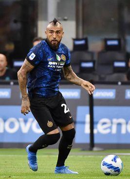 Arturo Vidal, 34 anni, all'Inter dal 2020: per lui 26 presenze e due gol