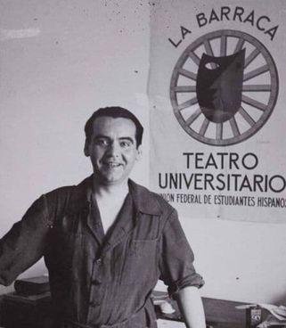 """Federico Garcia Lorca (1898-1936) e il teatro ambulante """"La Barraca"""""""