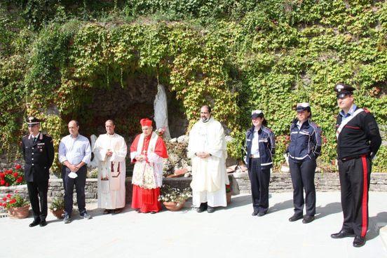 Il cardinale Simoni ricevuto a Palazzuolo sul Senio