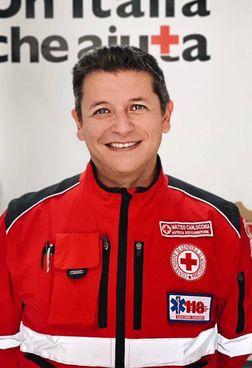 Matteo Carlocchia è il presidente della Croce Rossa di Porto Potenza