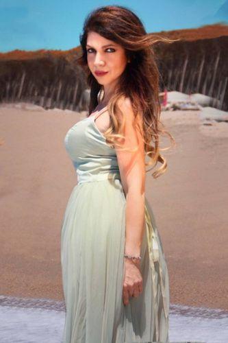 Cristina D'Avena, la 'puffa' villeggiatura.