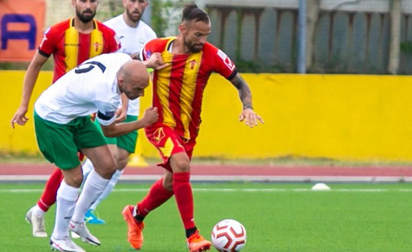 L'attaccante del Cattolica, Emilio Benito Docente, alla sua seconda stagione in giallorosso, potrebbe ancora una volta guidare l'attacco