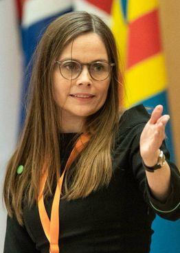 Katrin Jakobsdottir, 45 anni, ambientalista, premier uscente dell'Islanda: sarà riconfermata?