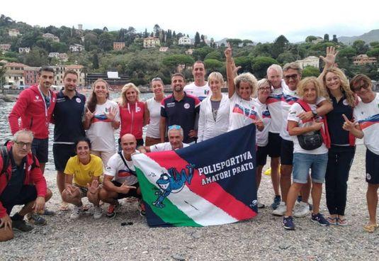 La Polisportiva Amatori Prato campione d'Italia Master 2021