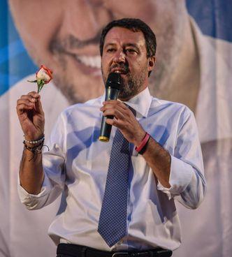 Matteo Salvini, 48 anni,. chiude la campagna elettorale per le. amministrative di Milano